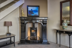 Black-Fireplace-with-Stove-Granart