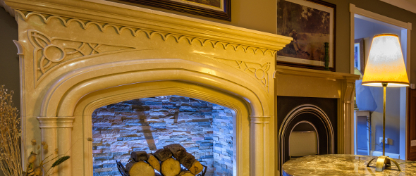 Fireplaces in Ireland by Granart